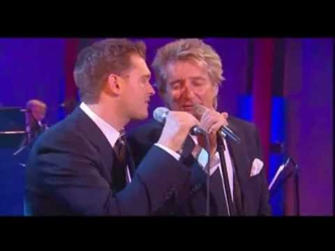 Michael Buble & Rod stewart - They can't take that away from me Music Videos