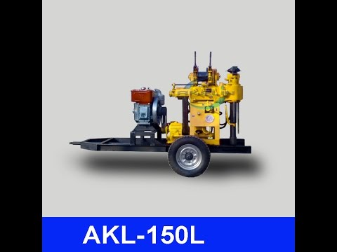 hydraulic drilling rig video 06 for upload