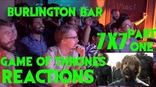 GAME OF THRONES Reactions at Burlington Bar /// S7 Episode 4 FINAL SCENE \\\\\\