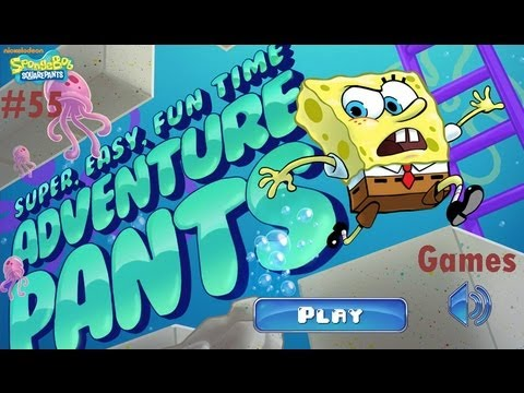 Games: Spongebob Squarepants - Super, Easy, Fun Time Adventure Pants