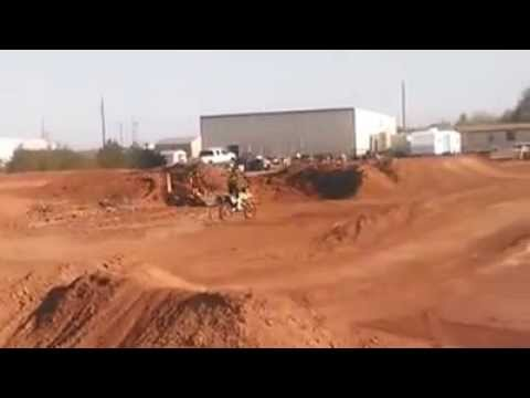 A few Laps around arenasport mx in Lubbock Texas