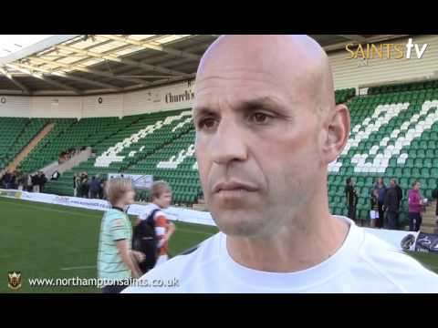 Jim Mallinder reflects on Saints win over Gloucester - Jim Mallinder reflects on Saints win over Glo