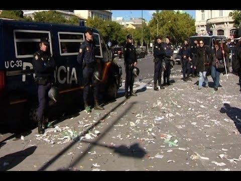 Huelga indefinida de basuras en Madrid