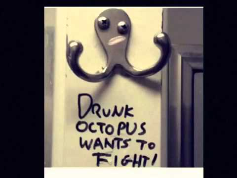 Pin angry octopus colouring pages page 2 on pinterest - Coat hook octopus ...