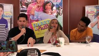 Ahron Villena & Cacai Bautista On Doing Their Film Harry & Patty