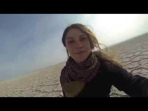 Italian tourist on IRAN road trip experience