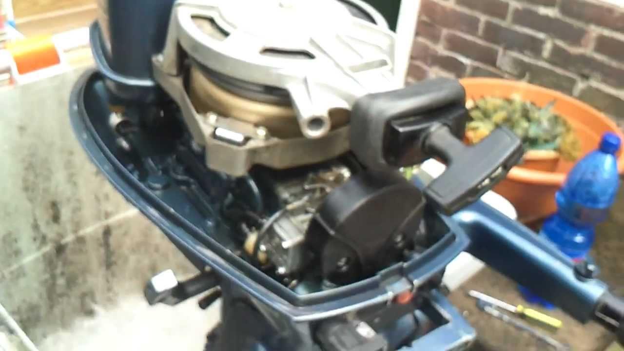 лодочный мотор 4hp