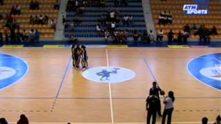 Basquetbol ITESM León vs UACJ Femenil Universiada Nacional 2013