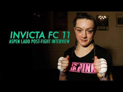 Invicta FC 11: Aspen Ladd Post-Fight Interview