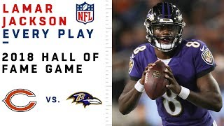 Every Lamar Jackson Play in NFL Debut | Bears vs. Ravens | NFL Highlights