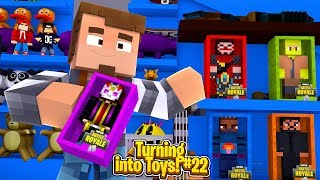 Minecraft Toys #22 - JACK HAS SAVED ROPO & NOW THE GOOD FORTNITE TOYS ARE HERE!!!