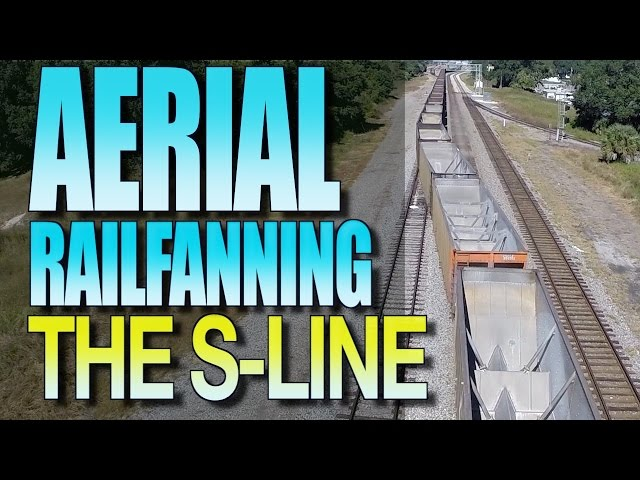 Aerial Railfanning Over The S-Line