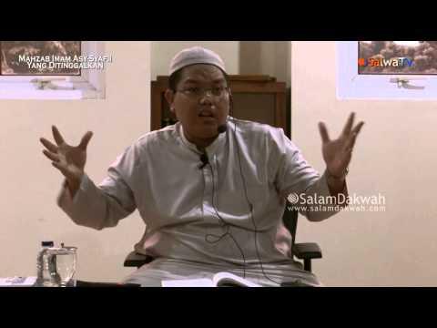 Madzhab Imam Asy-Syafi'i Yang Ditinggalkan - Ustadz Firanda Andirja,MA