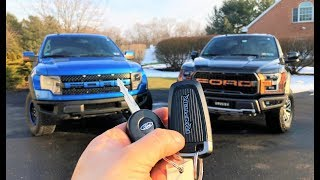 OLD RAPTOR VS NEW RAPTOR HEAD 2 HEAD!!! Here's All of the Differences...