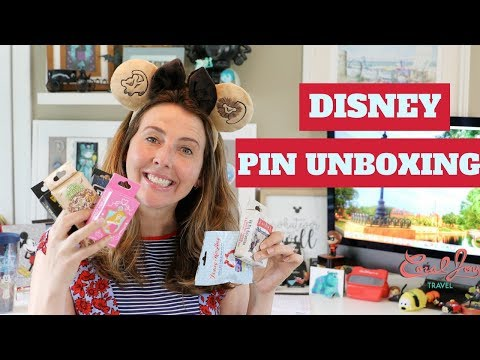 DISNEY MYSTERY PIN UNBOXING! Including The American Adventure Mystery Pins | May 2018