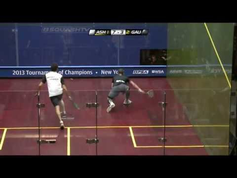 Squash : J.P. Morgan Tournament of Champions 2013 PSA Final Roundup - Ashour v Gaultier