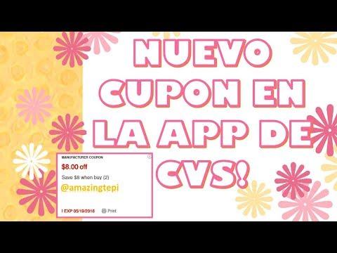 NUEVO CUPON EN LA APP DE CVS!!!