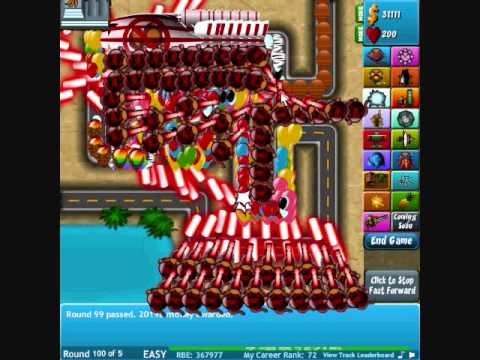 tower defence bloons 4