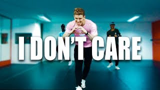 I DON'T CARE - Ed Sheeran ft Justin Bieber | Choreographer Tiago Montalti