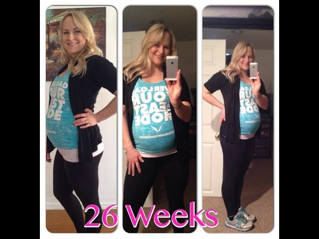 My Fit Pregnancy Workout At 26 Weeks   Second Trimester Workout