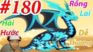 Rồng đen Mặt Trăng Huyền Thoại DRAGON CITY HNT choi game GAME NÔNG TRẠI RỒNG HNT Channel #180