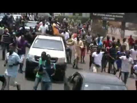 Manifestations de l'Opposition Guinéenne à Conakry(avril 2015)