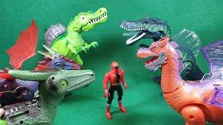 Đồ chơi siêu nhân hải tặc đi tìm đuôi khủng long quyết đấu với siêu nhân thần kiếm