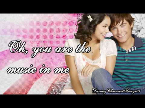 Gabriella And Troy - You Are The Music In Me
