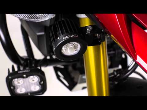 Denali D4 and D2 auxilary lights review