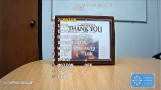Auto Focus Function Demo (1080p) - IDView