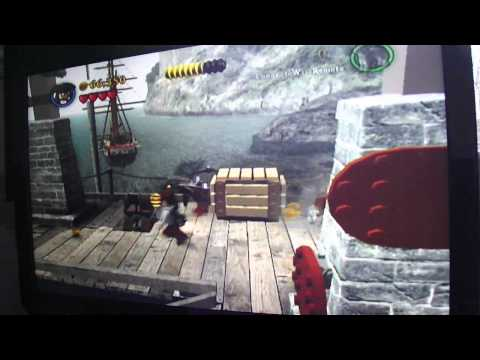Chapter 1-3 Lego Pirates Of The Caribbean Walk Through Wii Part 3 video