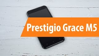 Распаковка Prestigio Grace M5 / Unboxing Prestigio Grace M5
