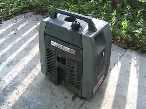 COLEMAN POWERMATE 1850 WATT PULSE PORTABLE GENERATOR 40.00 AT ESTATE SALE HEAR IT RUNNING