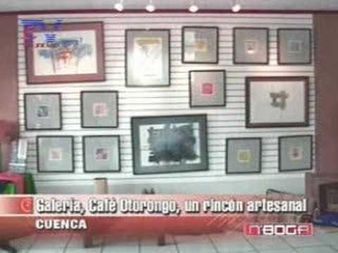 Galería, Café Otorongo, un rincón artesanal