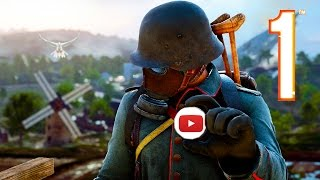 Battlefield 1 - Random & Funny Moments #16 (Flying Lessons, Double Rainbow!)