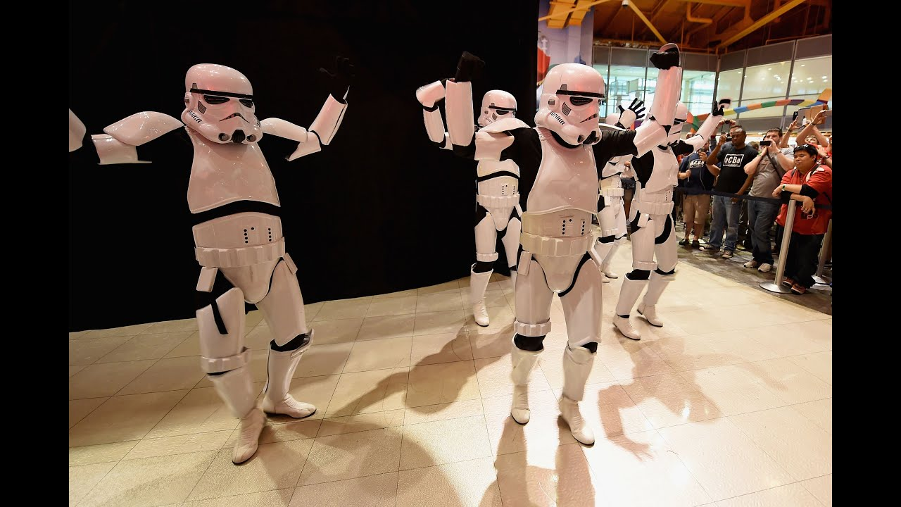 Stormtroopers Unveil 'Star Wars' Toys with a Dance in Times Square