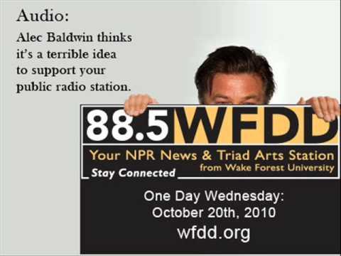Alec Baldwin on Public Radio
