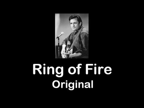 Ring of Fire  Original  Johnny Cash  1963