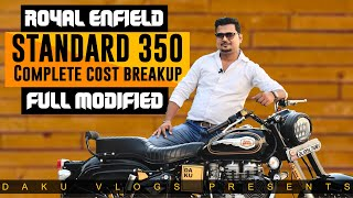 Royal Enfield modified | Bullet modification tips | Best modification | Complete cost break-up