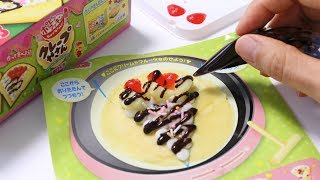 New! Popin'Cookin' Crepe Candy Making Kit