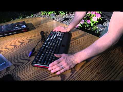 Thermaltake Tt eSports Knucker Gaming Keyboard Unboxing & Overview