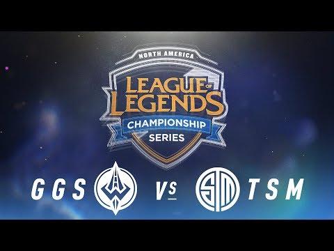 GGS vs. TSM - Week 9 Day 1   NA LCS Spring Split   Golden Guardians vs. TSM (2018)