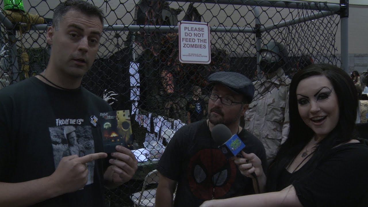 Phoenix comicon 2014 coverage part 3 the horror show for 13th floor everquest