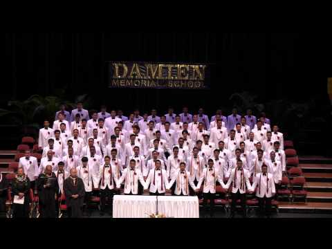 2014 Damien Memorial School graduation: Alma mater