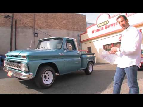 1965 Chevy C10 Pick Up SALE Tony Flemings Ultimate Garage reviews horsepower ripoff complaints video