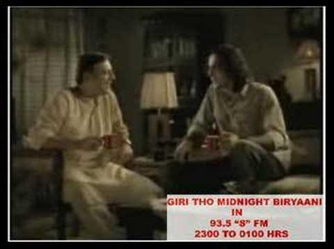 Giri tho midnight biryaani 93.5 S FM