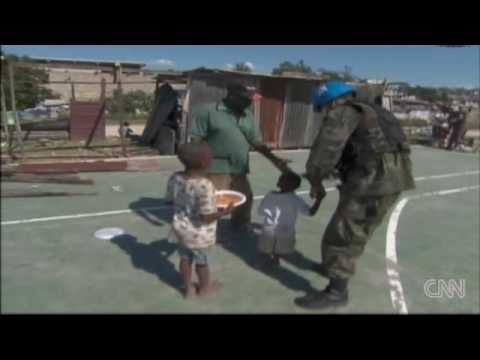 U.N. food aid distribution