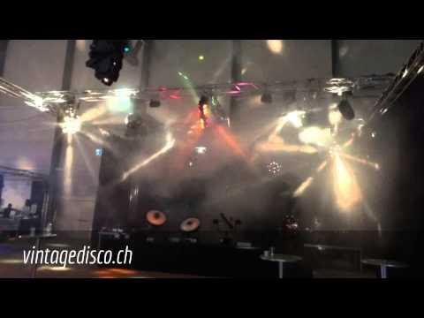 Vintage Disco Lightshow @ Light&Sound 2012 Luzern