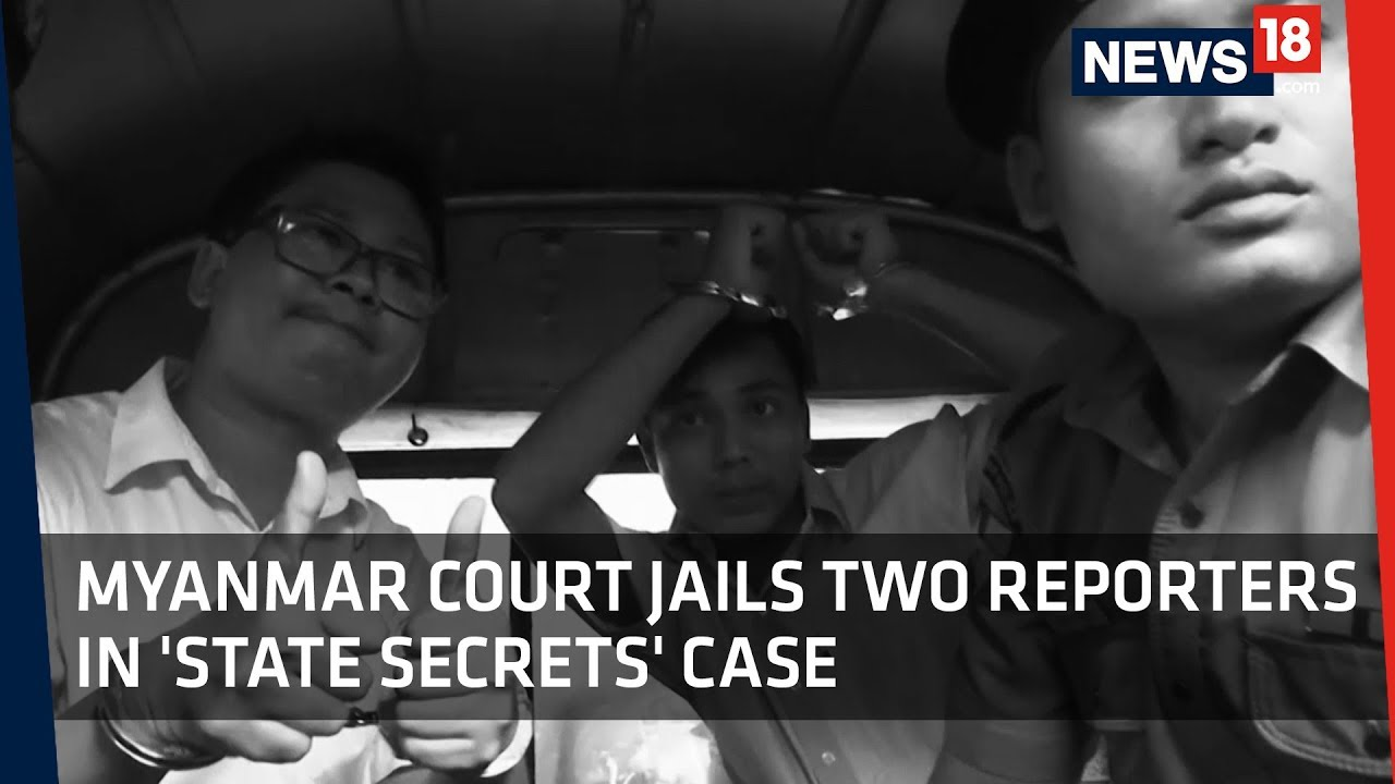 Myanmar Sentences Two Reuters Reporters to Seven Years in Prison
