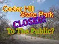 Bob Barker Visits Off Limit Areas Of Cedar Hill State Park – The Truth Is Exposed!